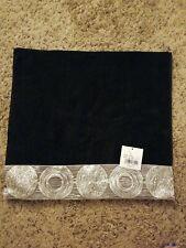 Avanti Linens Galaxy Hand Towel Black
