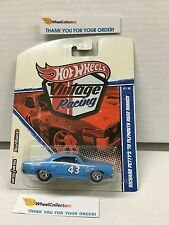 PETTY'S '70 Road Runner * CUSTOM WHEELS * Hot Wheels Vintage Racing  W202