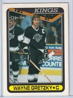 WAYNE GRETZKY 1990 1991 O-Pee-Chee OPC # 120 LA KINGS NEAR MINT+ Hockey Cards