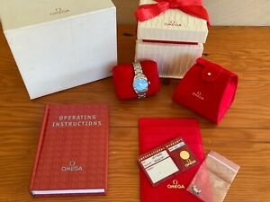 Omega Seamaster Aqua Terra Ref 2577.80.00 Ladies watch complete with boxes