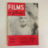 Films in Review magazine DECEMBER 1965 Rex Harrison, FBI in movies