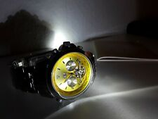 Yves Camani Herren Automatik Armband Uhr Edelstahl Multifunktion 5 Atm