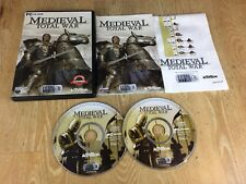 MEDIEVAL TOTAL WAR 1 - PC GAME - FAST POST - ORIGINAL & FULLY COMPLETE