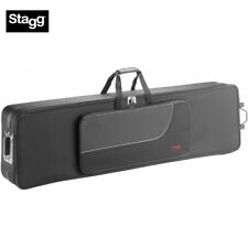 New Stagg Ktc-140D Terylene Soft Case for Keyboard with Wheels 59 x 16 x8