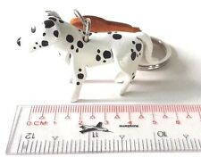 DALMATIAN DOG KEY CHAIN KEY BAG KEY RING  ART LEATHER SOUVENIR HANDMADE PET