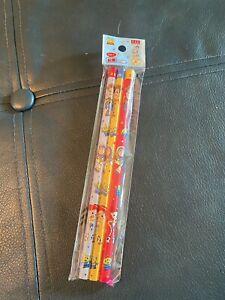 Rare Daiso Japan Disney Pixar Toy Story Pencils Woody Buzz Lightyear Jessie