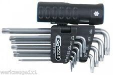 KS Tools 3 in 1 TX-Winkelstiftschlüssel-Satz, 10-tlg.