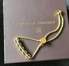 Monica Vinader Linear Bead Diamond Row Chain Bracelet New RRP £395
