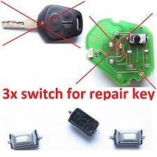 PORSCHE BOXSTER 996 986 CARRERA 911 918  SWITCH BUTTON REMOTE KEY FOB REPAIR