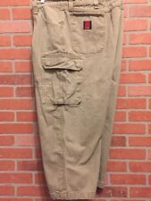 Wrangler Riggs Workwear Mens Cargo Pants Size 50 Carpenter Jeans Ripstop (AA39)