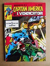 Raccolta Capitan America & I Vendicatori n°1 1990 Marvel Italia [G406]