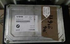 7516809 BMW E46 VVT   ENGINE ECU 3 SERIES