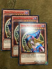 3x Yugioh DL18-EN003 Dark Magician Girl RED Rare Duelist League NM FREE SHIPPING