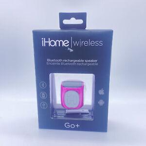 IHome Go+ Wireless Rechargable Mini Speaker