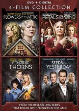 Flowers in the attic (dvd) (4 movies set) New, Free shipping
