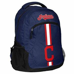 Cleveland Indians Logo Action BackPack School Bag New Back pack Gym Travel Book