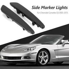 1 Pair Front Corner Side Marker Lights NO Bulbs for Chevrolet Corvette C6 05-13