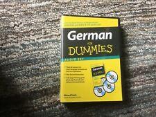 German For Dummies Audio Set by Edward Swick 9780470222560 (2008) NEW