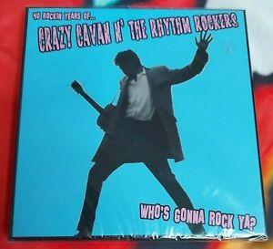 Crazy Cavan n The Rhythm Rockers - Who's Gonna Rock Ya? 40th Anniversary Rare CD