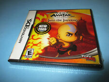 Avatar: The Last Airbender Into the Inferno (Nintendo DS) Lite DSi NEW & Sealed