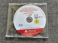 VIDEOJUEGO WORLD OF WARRIORS - PS4 - PLAYSTATION 4 - PAL ESPAÑA - PROMO DISC