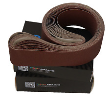 75mm x 1525mm aluminium oxide polising belts (Pack of 10)
