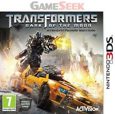TRANSFORMERS - DARK OF THE MOON - NINTENDO 3DS BRAND NEW FREE DELIVERY