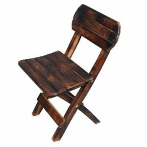 Wooden Stool Furnished and Fold Wood Chiar Children Folding Chair Outdoor Portab
