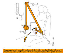 VW VOLKSWAGEN OEM Jetta Front Seat Belt Buckle-Retractor Assy Left 5C6857705BRAA