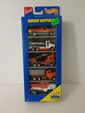 1997 Hot Wheels Road Repair 5-PACK 2 EXCLUSIVE CARS FREE SHIPPING VHTF