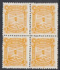 NUOVA Zelanda Assicurazione sulla vita: 1946 2d GIALLO - 2694