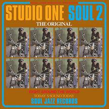 Studio One Soul 2 Various Artists Double LP Vinyl European Soul Jazz 2017 18