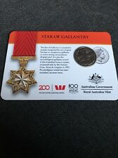 2017 Legends of the Anzacs Medal Collection - Star of Gallantry 20 Cents COIN 3