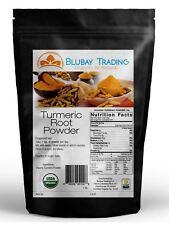ORGANIC TUMERIC Root Powder 100% Pure (Curcuma Longa) TURMERIC  2 lb - Free Ship