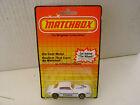 1983 MATCHBOX SUPERFAST #16 WHITE PONTIAC FIREBIRD 1979 ON SILVER/GRAY BASE MOC