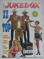 ZZ TOP JUKEBOX MAGAZINE 80 FERRE LARRY GRECO EUROVISION 1956-65 EVERLY BROTHERS