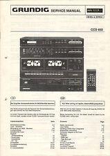 Grundig Service Anleitung Manual CCD 650  B775