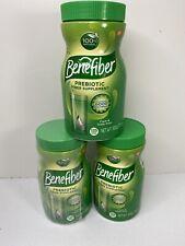 3x Benefiber Daily Prebiotic Dietary Fiber Powder Supplement Digestive Health