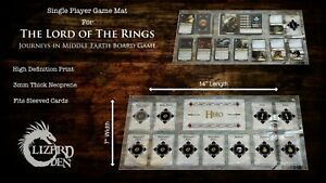 Lord Of The Rings Journeys In Middle Earth Custom Made Game Mat