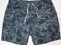 Polo Ralph Lauren Big and Tall Mens Blue Tropical Beach Shorts NWT Size 2XB