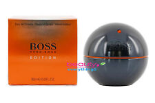 Boss In Motion Black by Hugo Boss 3.0oz /90ml Eau De Toilette Spray For Men RARE