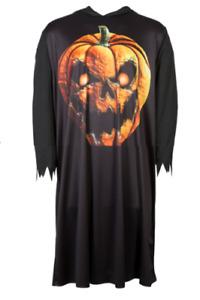 The Evil Hooded Pumpkin Reaper Halloween Robe Fancy Dress Treat or Treat New