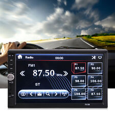 "Car Stereo 7"" inch Touch screen Double 2 Din Radio Mp3 Bluetooth Player"