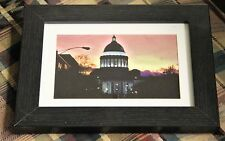 Photo 5 x 7 and framed Photography Fine Art Print Signed back of print Capitol