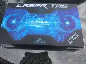 LAZER TAG BATTLE 2 PLAYER BATTLE PACK TAG GUN SHOOTING GAME DYNASTY TOYS