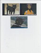 2005 Bleach Anime Cardass Masters YORUICHI SHIHOIN Lot of 3 Cards Bandai Japan