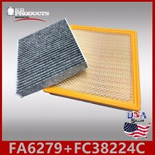 FA6279 FC38224C(CARBON) ENGINE & CABIN AIR FILTER ~ 2014-2018 IMPALA 2.5L