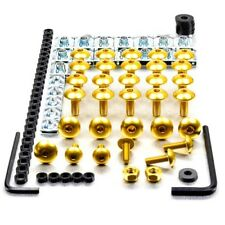 Pro-Bolt Aluminium Fairing Bolt Kit - Gold FYA056G Yamaha YZF-R125 08+