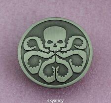 Avengers Captain America Hydra/Red Skull Metal Badge