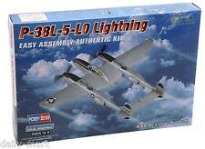 HobbyBoss 1/72 80284 P-38L-5-LO Lightning Model Kit Hobby Boss